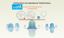 ESTRATEGIA DE ABORDAJE TERITORIAL.