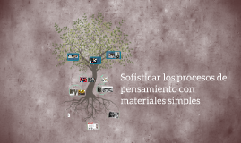 Copy of Sofisticar los procesos de pensamiento con materiales simple