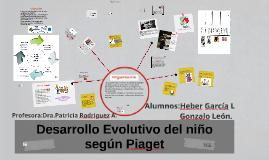 Desarrollo Evolutivo del niño según Piaget