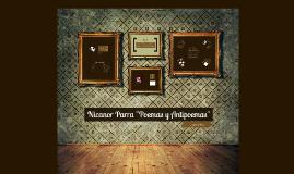 """Copy of Copy of Nicanor Parra """"Poemas y Antipoemas"""""""