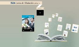 Curso de Titulación 2014-1