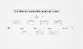 Five Star Standards 2015-2016