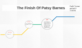 The Finishing Of Patsy Barnes
