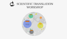 Scientific translation workshop