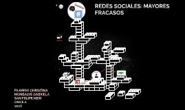 Copia de REDES SOCIALES: MAYORES FRACASOS