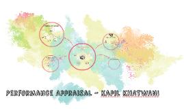 Performance Appraisal - Kapil KHATWANI