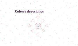 Cultura de residuos