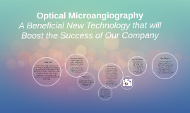 Copy of Optical Microangiography