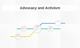 Advocacy and Activism