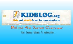 Kidblog.org Overview