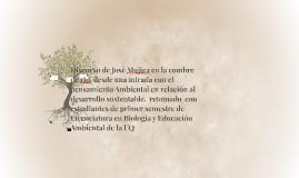 Discurso de José Mujica en el pensamiento ambiental de la Un