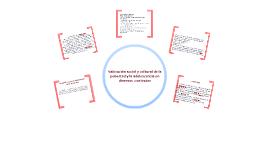 Copy of Valoración social y cultural de la pubertad y la adolescencia en diviesos contextos