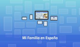 Mi familia en España
