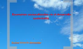 Copy of Escenario socio cultural sustentabilidad.