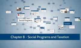 Ch. 8 Social Programs