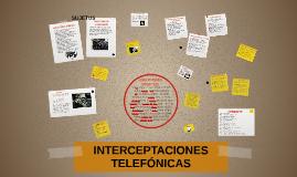 ESCUCHAS TELEFÓNICAS