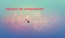 equipos de computacion