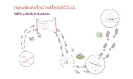 Fundamentos matemáticos para análisis y sintésis de mecanismos.