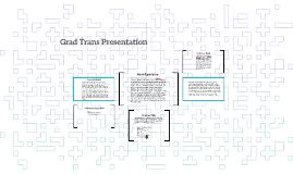 Grad Trans Presentation