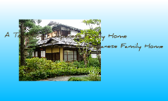 Traditional Japanese Homes