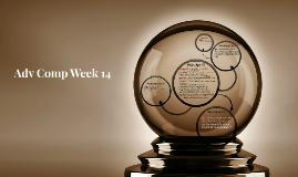 Adv Comp Week 14
