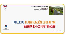Copy of Taller Planificación 2016
