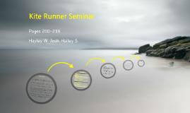 Kite Runner Seminar
