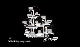 WSOP Sydney 2016