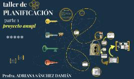 PLANIFICACIÓN EDUCATIVA > proyecto anual