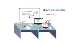 Informatics Week 2