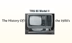 The History Of Home Technology in the 1980's
