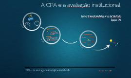 Apresentação da CPA - Resultados 2013