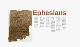 Ephesians 3:1ff