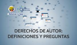 DERECHOS DE AUTOR: MEDIDAS Y CONSECUENCIAS