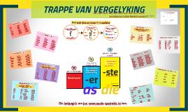 TRAPPE VAN VERGELYKING