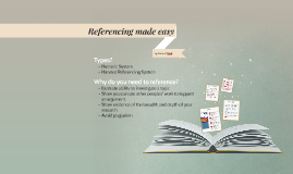 Referencing made easy
