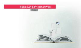 Robin Ash & Printzhof Press