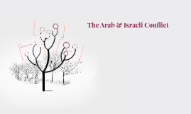 The Arab & Israeli Conflict