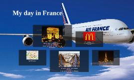 Mon voyage en Paris