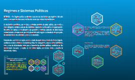Regimes e Sistemas Políticos