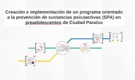Creación e implementación de un programa orientado a la prev