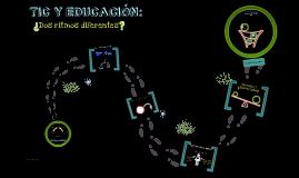 Copy of TIC Y EDUCACIÓN: ¿Dos ritmos diferentes? Presentación