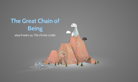 Copy of The Great Chain of Being
