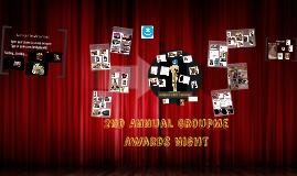 2nd Annual GroupMe Award Night