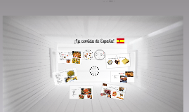 ¡La comida de España!