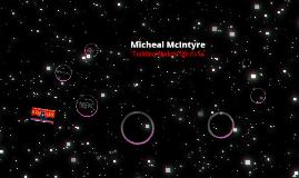 Micheal Mcintyre