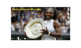 Edexcel - Socio-cultural influences