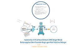 Copy of Implementasi Artificial Neural Network (ANN) Dengan Metode Backpropagation Dalam Peramalan Harga Logam Mulia Pada Emas B