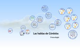 Las hablas de Córdoba