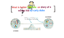 big Nate- and diary of a wimpy kid